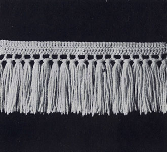 Single Knot Fringe Pattern