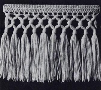 Triple Knot Fringe Pattern