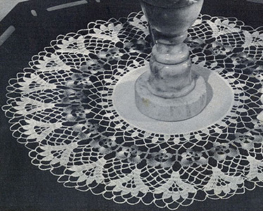 Pansy Wheel Doily Pattern