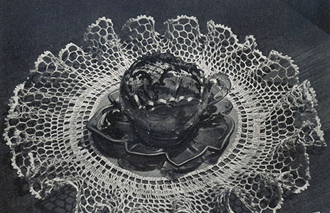 Fluted Frill Doily Pattern #12-43