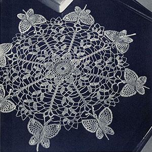 Butterfly Doily Pattern #12-60
