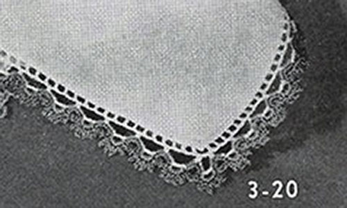 Handkerchief Edging Pattern #3-20