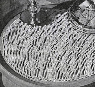 Filet Doily Pattern #3-46