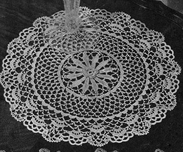Irish Morn Doily Pattern #3-48