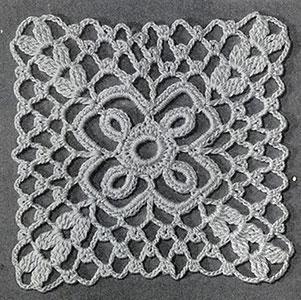 Tiny Squares Motif Pattern #3-58
