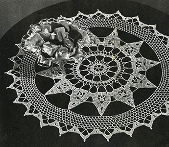 Doily Pattern #9-127