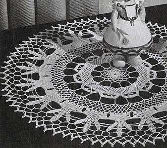 Doily Pattern #9-134