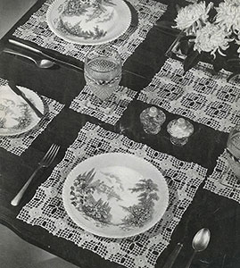 Luncheon Set Pattern #9-139