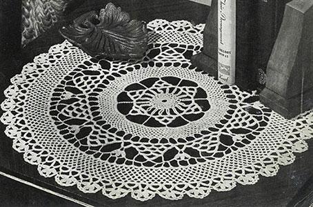 Doily Pattern #9-142