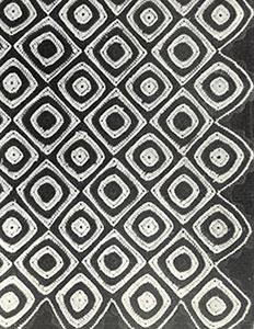 Harlequin Afghan Pattern #634