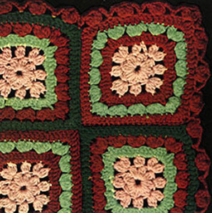 Clover Patch Afghan Pattern #639