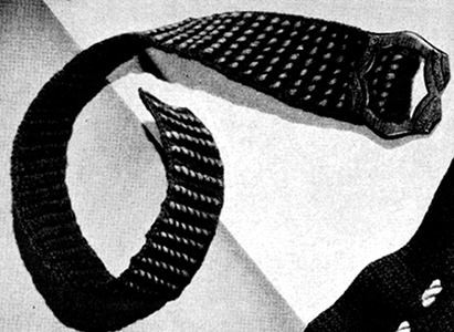 Crocheted Belt Pattern #2274