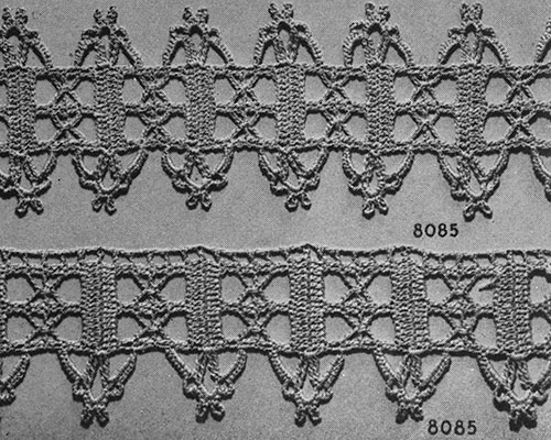 For the Home Edging #8085 Pattern