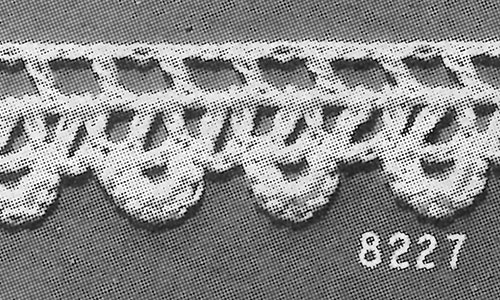 Baby Edging #8227 Pattern