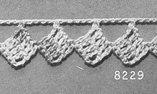Baby Edging #8229 Pattern