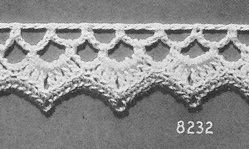 Baby Edging #8232 Pattern