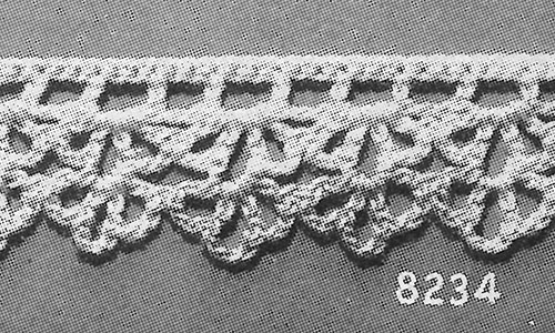 Baby Edging #8234 Pattern