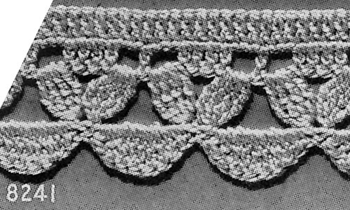 Towel Edging #8241 Pattern