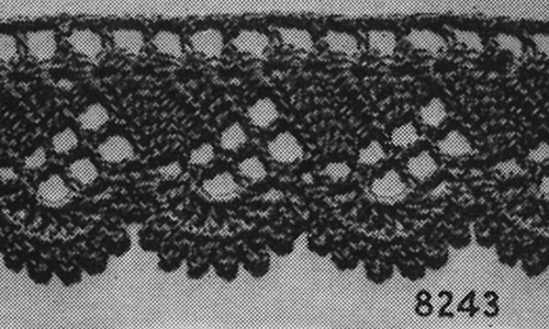 For the Home Edging #8243 Pattern