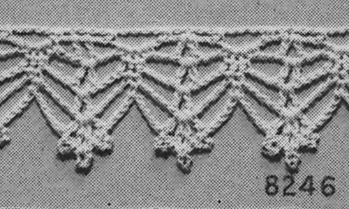 For the Home Edging #8246 Pattern
