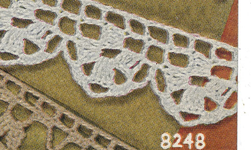 This or That Edging #8248 Pattern
