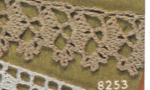 This or That Edging #8253 Pattern