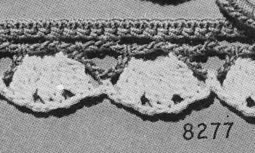 Doily Edging #8277 Pattern