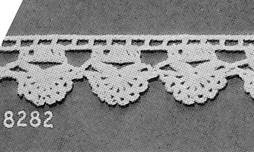 Towel Edging #8282 Pattern