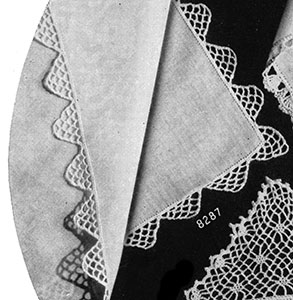 Handkerchief Edging #8287 Pattern