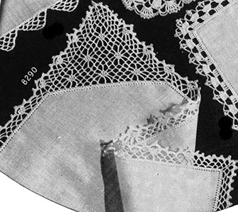 Handkerchief Edging #8290 Pattern