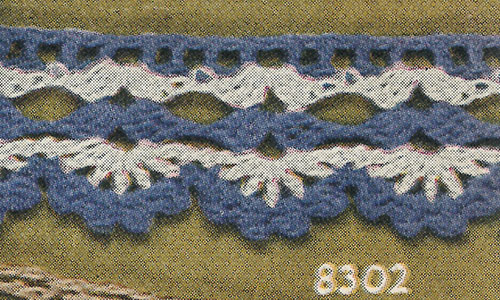 This or That Edging #8302 Pattern