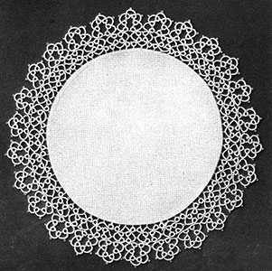 Tatted Doily Pattern #7082