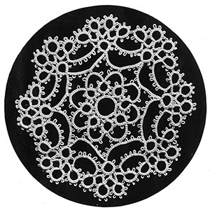 Tatting Doily Pattern #8150