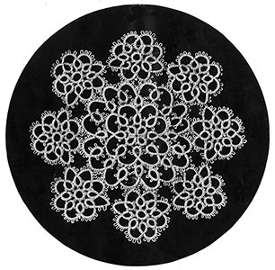 Tatting Doily Pattern #8155