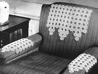 Chair Set Pattern #7039