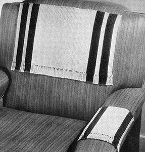 Two-Colored Chair Set Pattern #7096