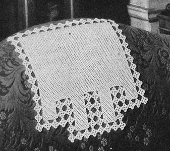 Irish Crochet Chair Set Pattern #7098