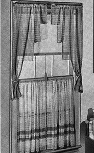 Curtains Pattern #986