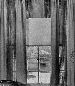Curtains Pattern #989