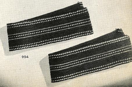 Curtain Tie-Back Pattern #994