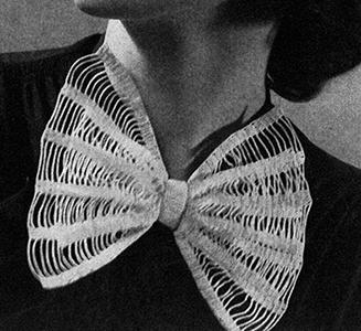 Beau Tie Collar Pattern #2294
