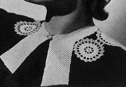 Star Wheel Collar Pattern #2295