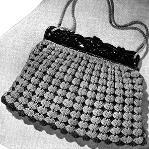 Sea Shells Purse Pattern #2308