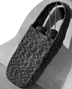 Knitting Bag Pattern #476