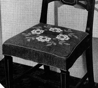 Chair Seat Pattern #7135