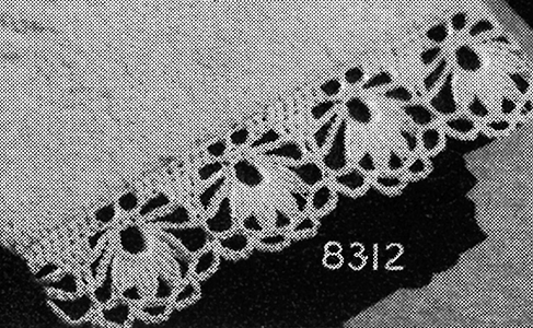 Towel Edging Pattern #8312