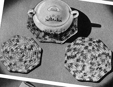 Hot Plate Set Pattern #9013