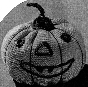Pumpkin Pin Cushion Pattern #9022