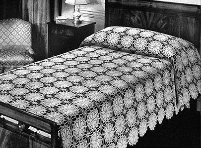 Lucky Star Bedspread Pattern #644