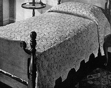Popcorn Star Bedspread Pattern #651